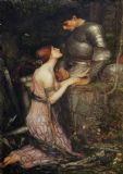 Waterhouse, John William: Lamia. Fine Art Print/Poster. Sizes: A4/A3/A2/A1 (00845)